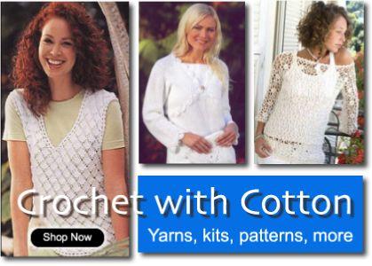 Crochet Cotton Patterns Patterns Gallery