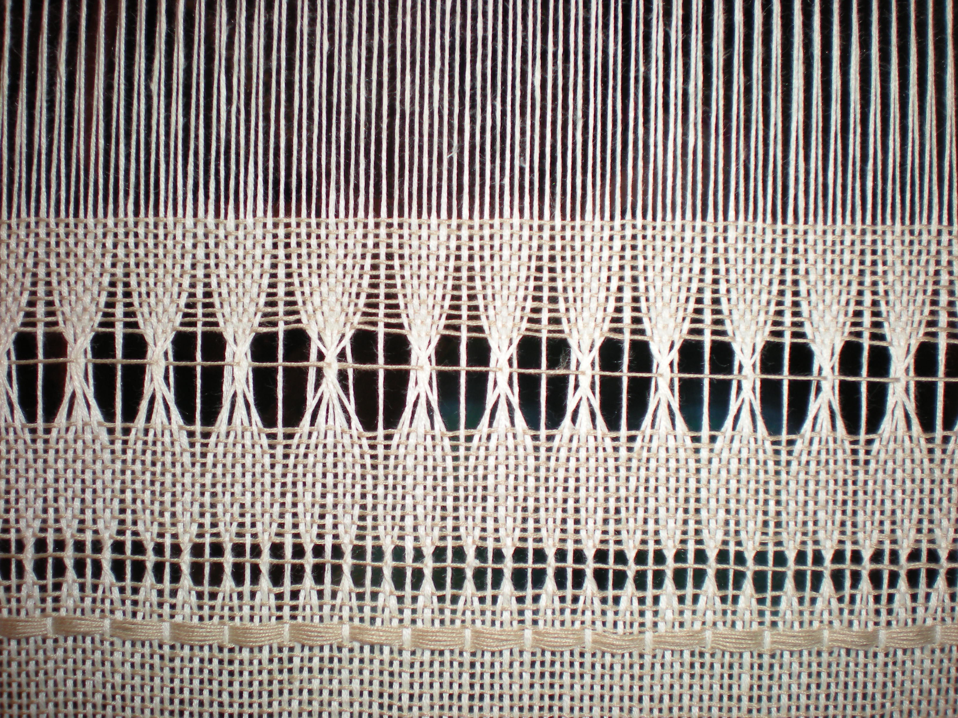 Weaving Leno On A Rigid Heddle Loom Cotton Clouds Talk