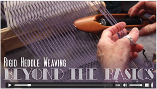 Click for a video preview of Rigid Heddle Weaving: Beyond the Basics