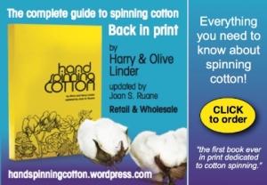 Handspinning Cotton