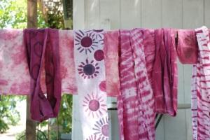 Rocio's scarves