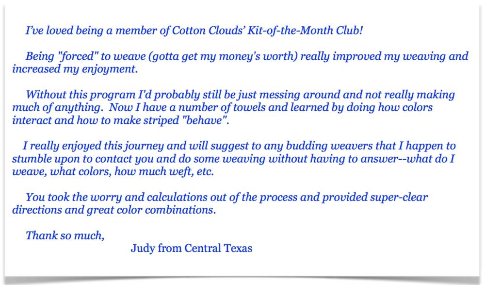 Kit Club Testimonial