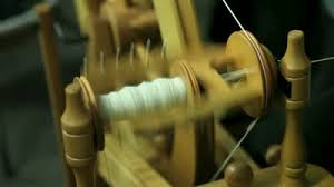 wheel spinning cotton